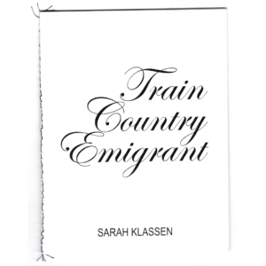 Train Country Emigrant