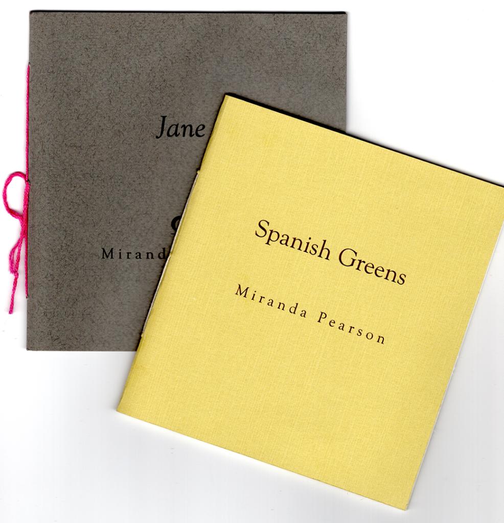Jane and Spanish Greens